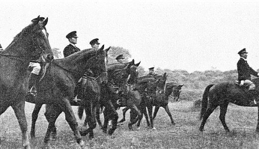 日本の騎馬警官