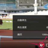 競馬パドック中継360VR画質変更